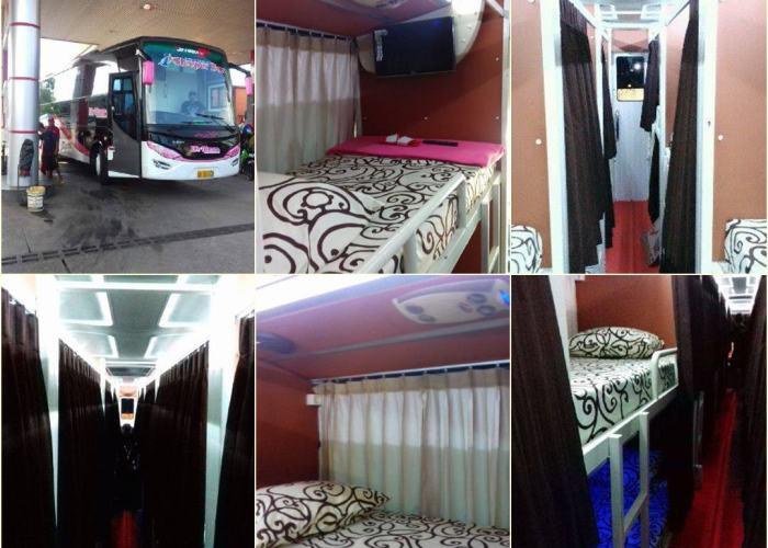 7 Foto Bus Sleeper Yang Pertama Di Indonesia