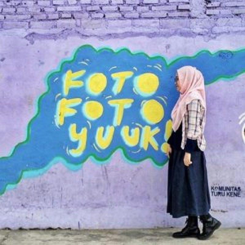 Foto-foto di kampung warna-warni Jodipan Malang ini yuuk! Via ig @fhieluv