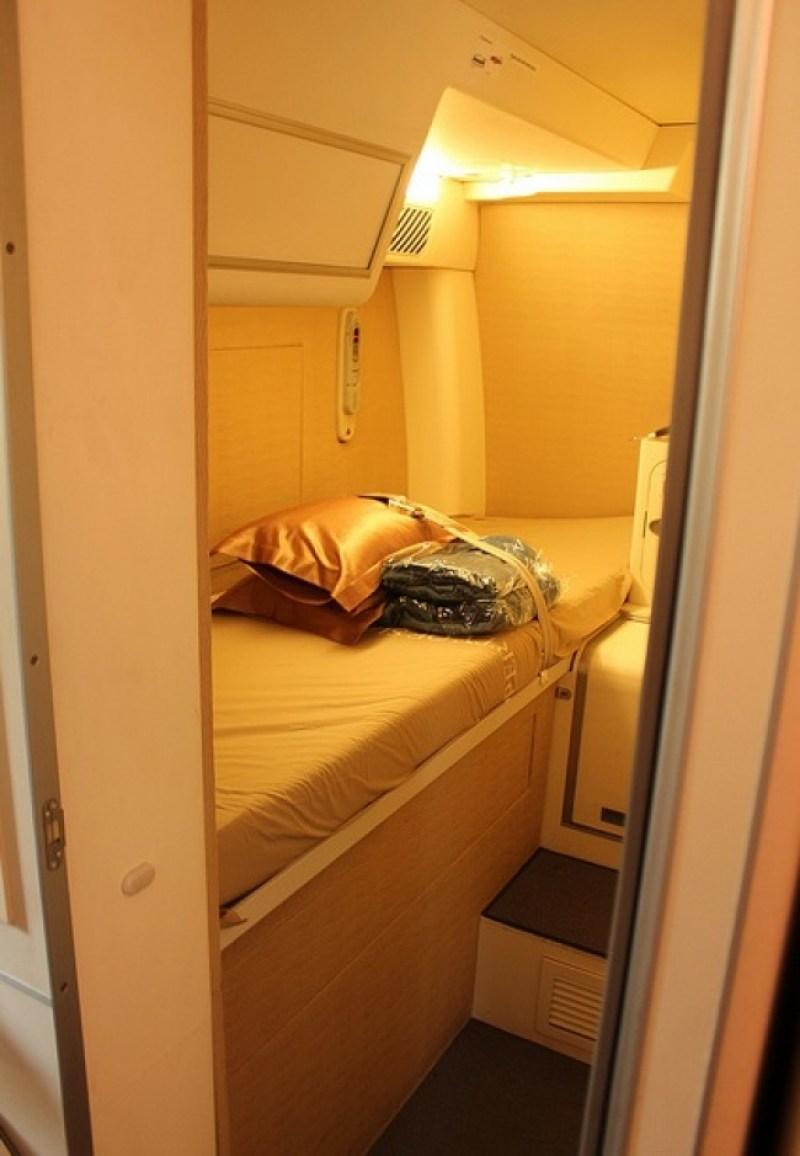 Ruang rahasia di Airbus A380 untuk beristirahat pilot terlihat sangat nyaman!