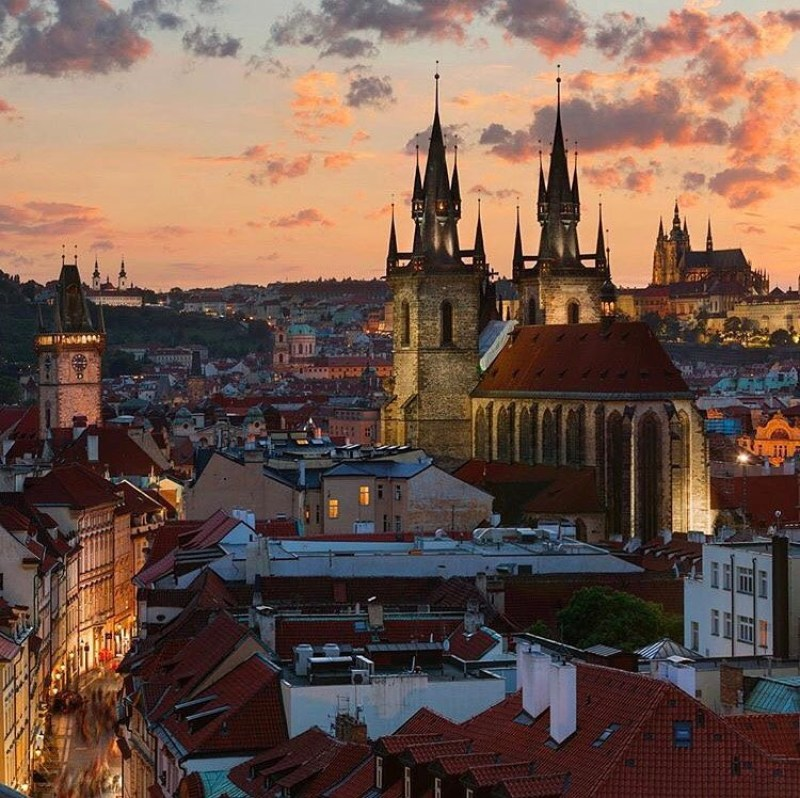 Prague by IG @wonderful_prague