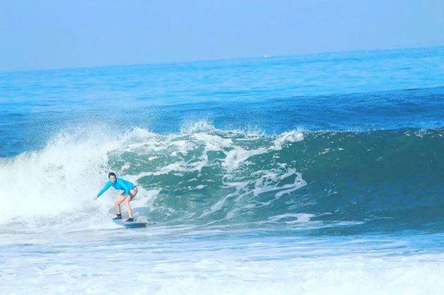 Pantai Medewi ini cukup terkenal di kalangan surfer by IG @joanna.set