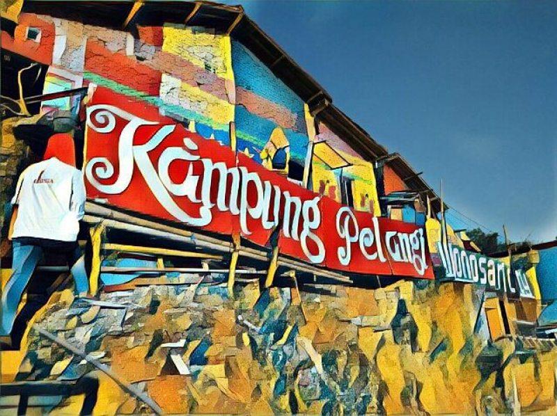 Before becoming hits, its name was Kampung Wonosari by IG @ _farid_3