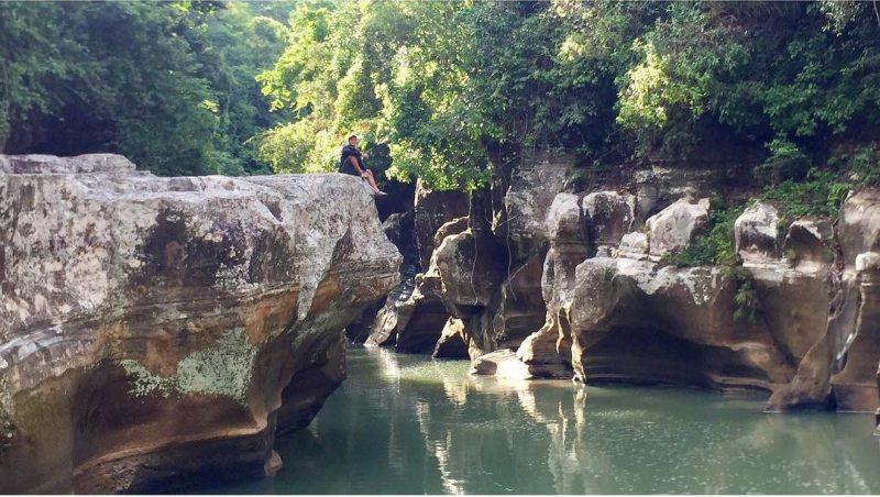Tanjong Canyon Tasikmalaya by IG @awansilly