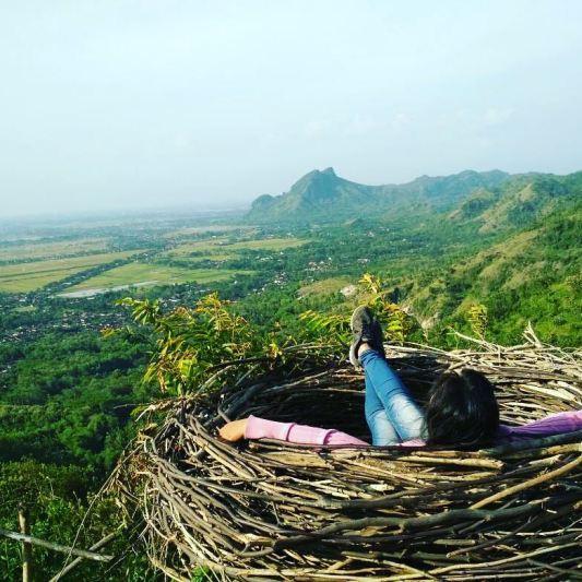 Ini adalah salah satu spot foto paling populer disini by @ikahtu.andi
