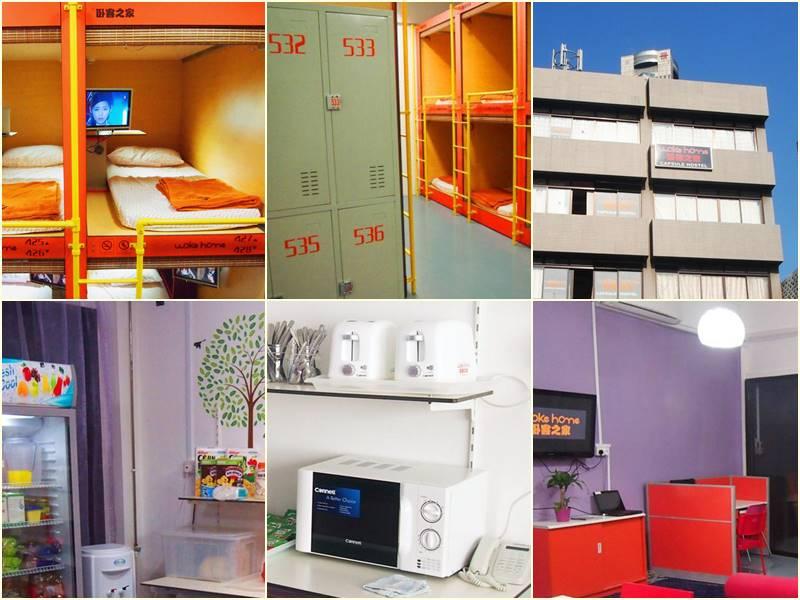 Woke Home Capsule Hostel Singapura