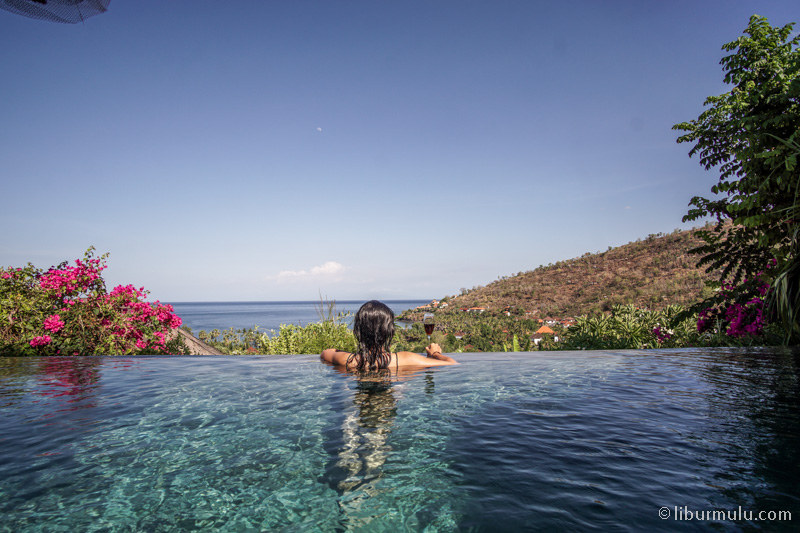 The best part of this villa infinity pool anyway