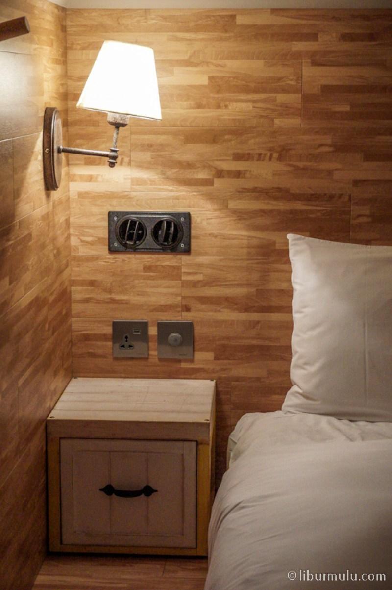 Bed in Dorm room