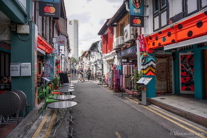 Suasana Haj lane Singapura