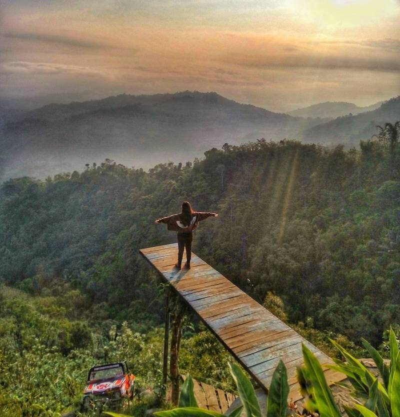 Ini juga merupakan salah satu tempat wisata Instagramable di Jogja via @jogjakartaid
