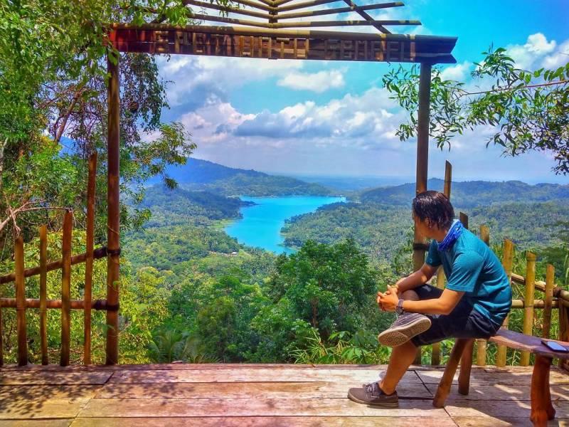 Bukit Cendana Jogja bisa dikunjungi kapan saja, asalkan cuaca sedang cerah dan bersahabat via @bojjezt_23