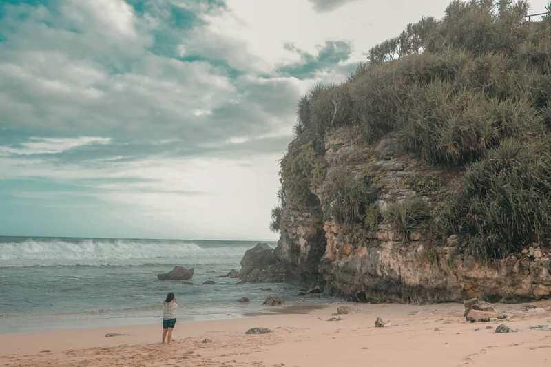 Cara Pergi KePantai Watu Kodok Gunungkidul! via @ressastra