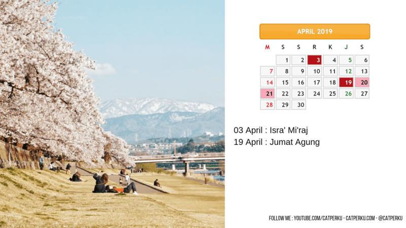 KalenderApril 2019