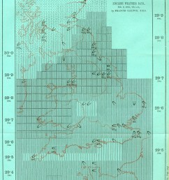 though galton s specific symbols were not adopted his idea gained widespread support compare to the standardized weather maps in today s newspapers  [ 1604 x 2235 Pixel ]