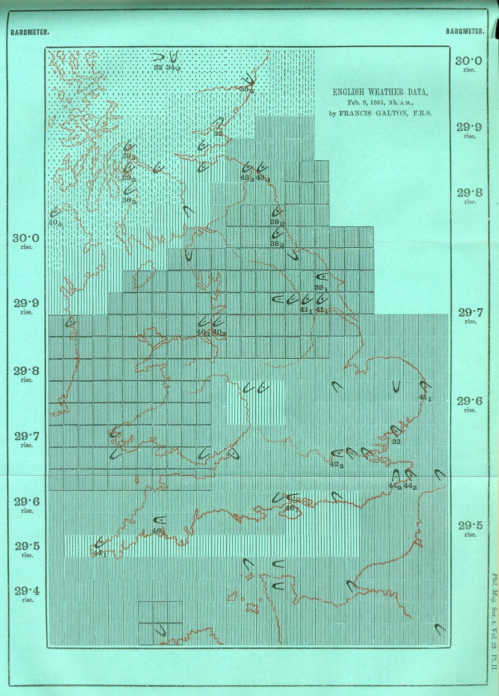 medium resolution of though galton s specific symbols were not adopted his idea gained widespread support compare to the standardized weather maps in today s newspapers