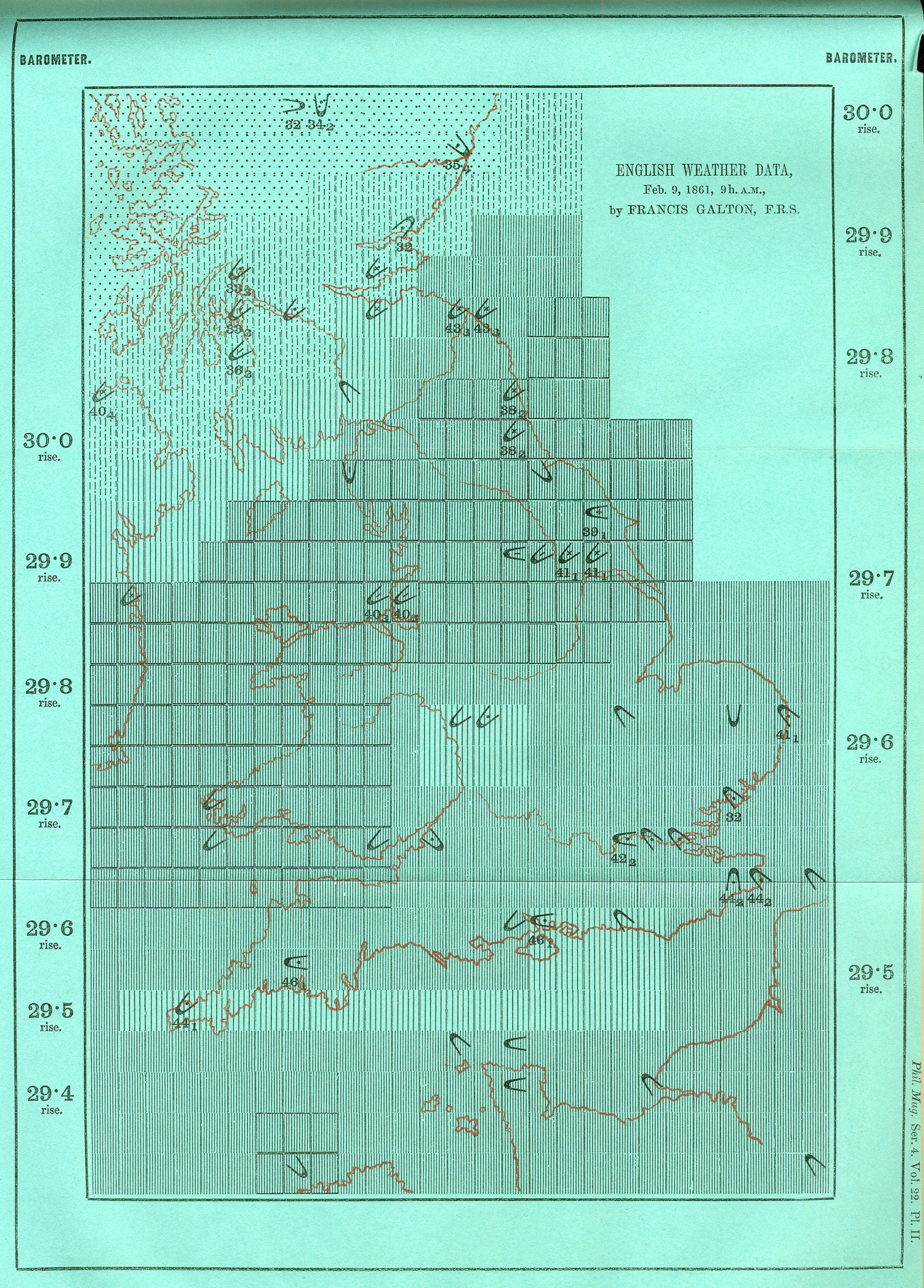 hight resolution of though galton s specific symbols were not adopted his idea gained widespread support compare to the standardized weather maps in today s newspapers