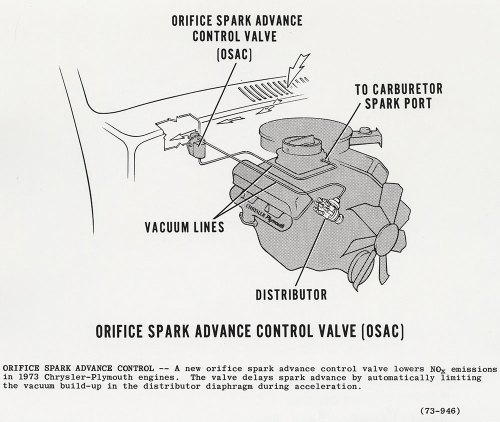 small resolution of orifice spark advance control valve osac