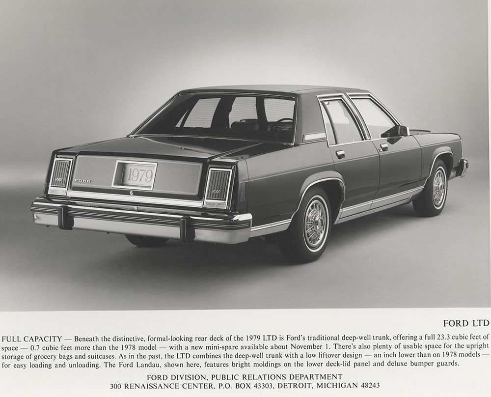 hight resolution of ford s ltd landau 1979