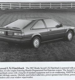 honda accord lxi hatchback 1987 [ 1000 x 809 Pixel ]