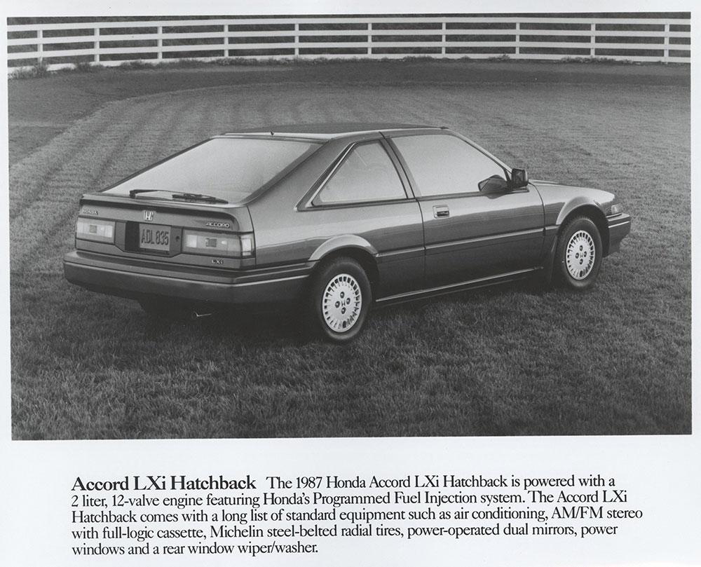 medium resolution of honda accord lxi hatchback 1987