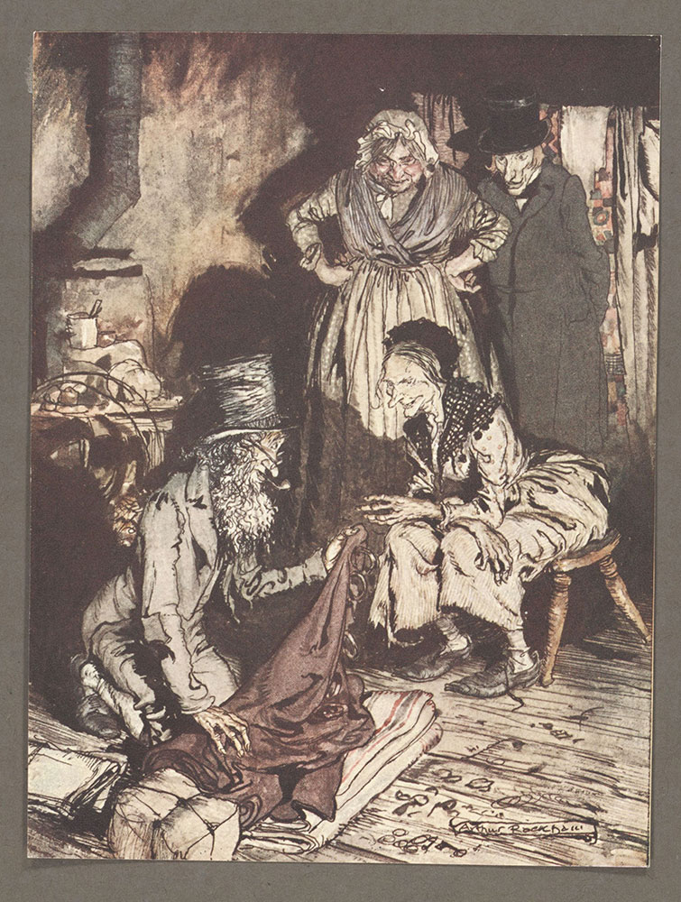 A Christmas Carol illustrated by Arthur Rackham
