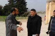 عميد بلدية شحات يتفقد أقدم مدرسة في المدينة