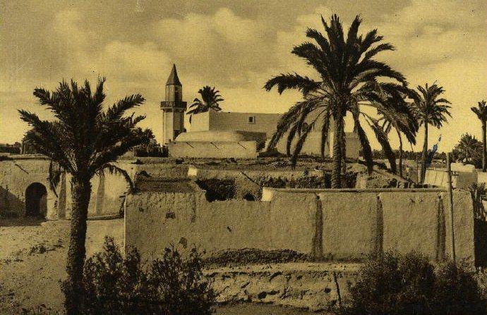 صورة قديمة لمصراتة