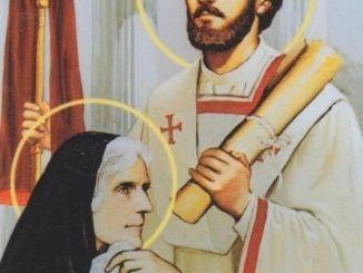 القديس أغسطينوس أسقف هيبو والقديسة مونيكا أمه