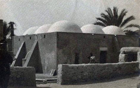 مسجد قديم في مدينة #زواره 1923