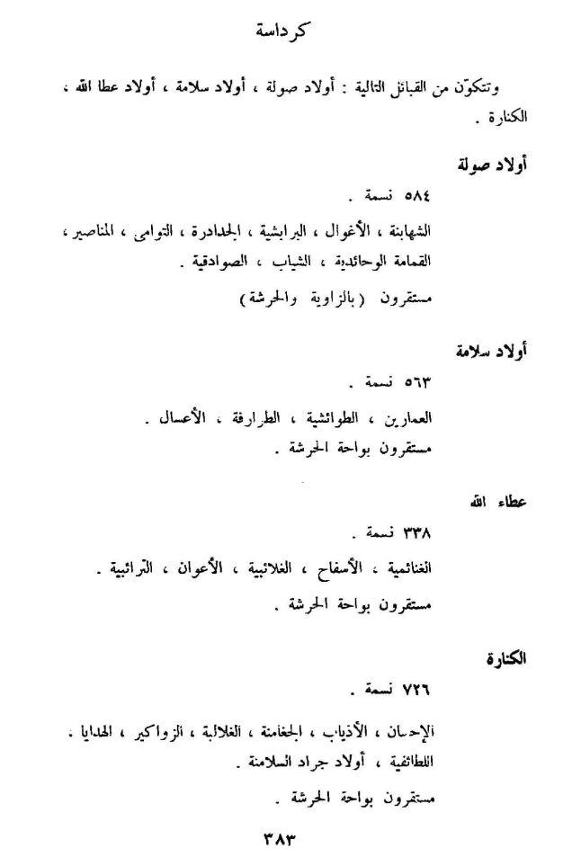 مسلاتة سكان ليبيا لهنريكو دي اغسطيني صفحة 154