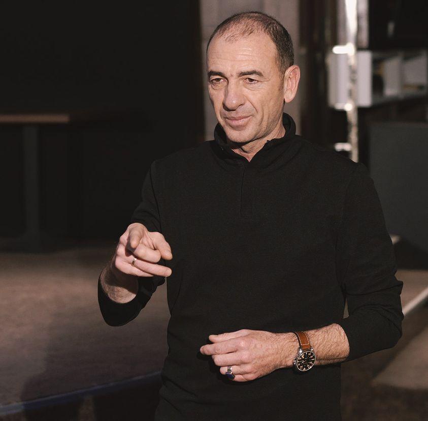 Димитър Маринов по време на първото издание на Академията си у нас Снимка: Личен архив