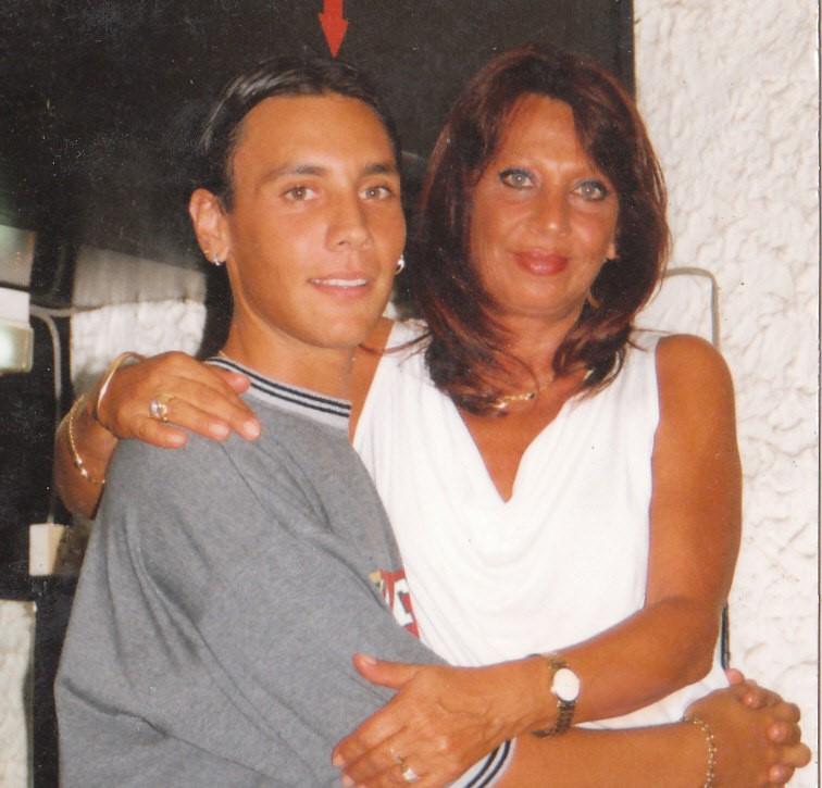 Лео с майка си