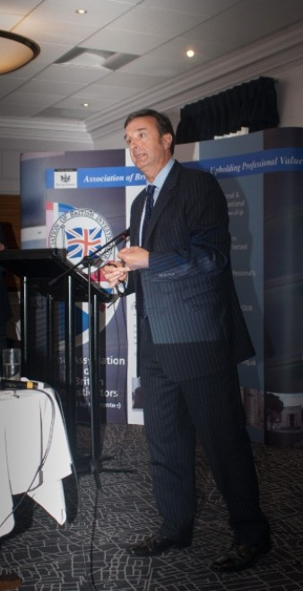 Ed Bateman speaking at the Association of British Investigators Birmingham Conference - September 2014
