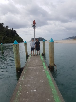 High tide at Whangamata