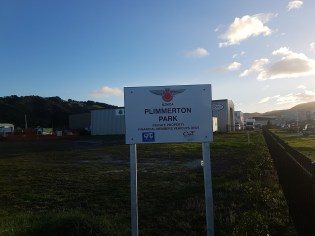 The NZMCA camp in Wellington space for heaps of motorhomes and a little home away from home for us.