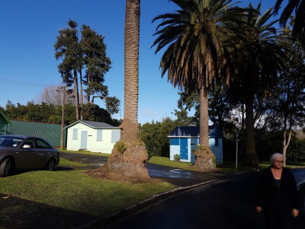 The entrance to the NZMCA Site
