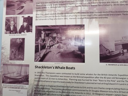 The story of Shackleton's whale boats
