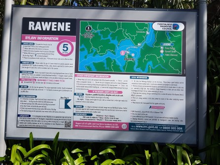 Rawene harbour info