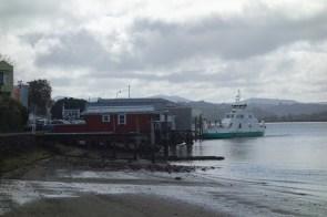 The Rawene vehicle ferry