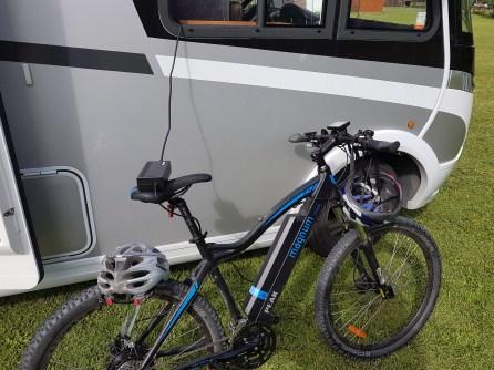 Charging the bike