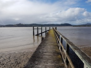 The end of the jetty