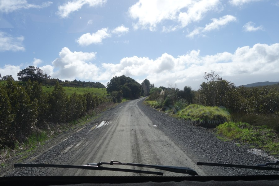 The road to Wairere