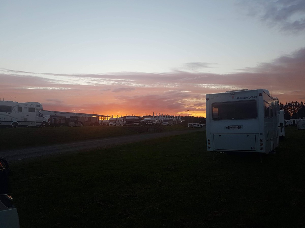 Looking back on the motorhome show