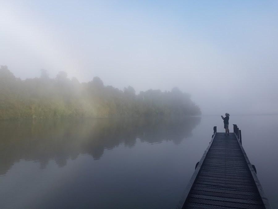 It was a bit foggy