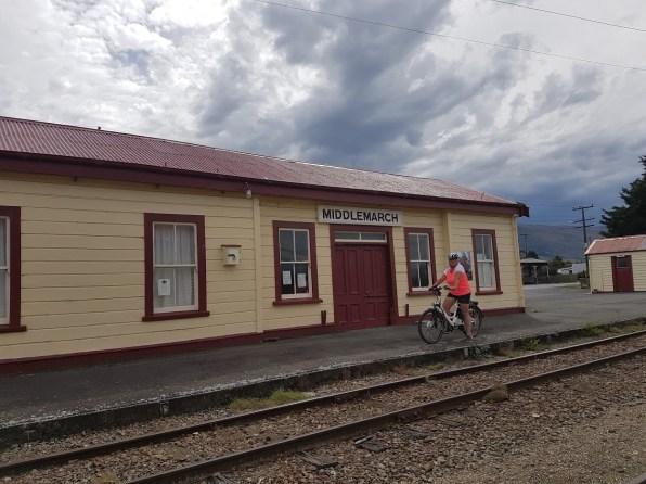 Start of rail trail