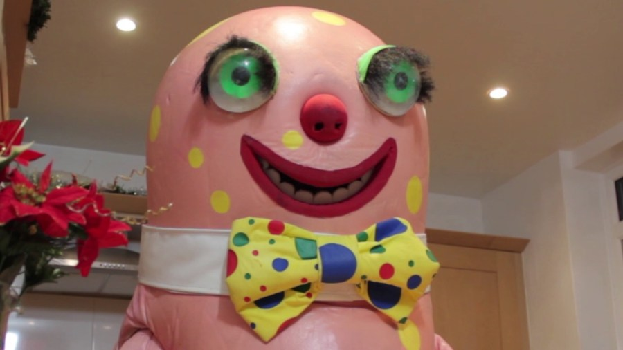 The original Mr Blobby