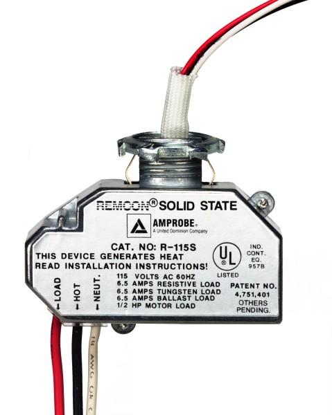 Low Voltage Relay Switch : voltage, relay, switch, Remcon, Voltage, Relays, R-115S, RC-120S