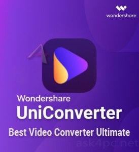 Wondershare UniConverter 12.5.1.8 Crack 2021 Full Registration Code