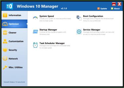 Yamicsoft Windows 10 Manager 2021 3.4.0 Crack Keygen Download