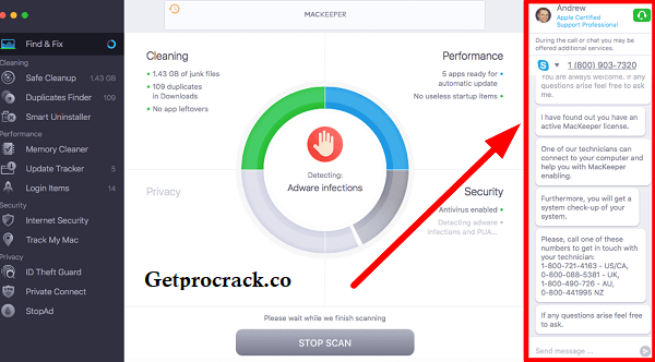 MacKeeper 4.10.4 Crack + Patch With Activation Code {Latest} Free Download 2021