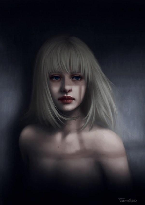 deviantART Digital Art Girl